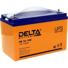 AGM аккумулятор DELTA HR 12-100 L