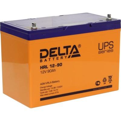 AGM аккумулятор DELTA HRL12-90