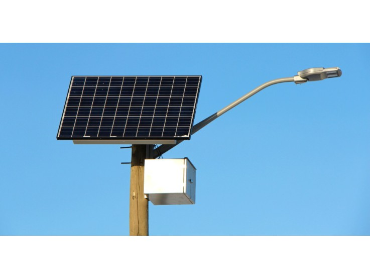 Солнечные батареи для уличного освещения: где лучше устанавливать