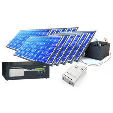 Почему лучше выбирать готовые комплекты солнечных электростанций?