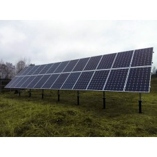 Наземное крепление солнечных батарей
