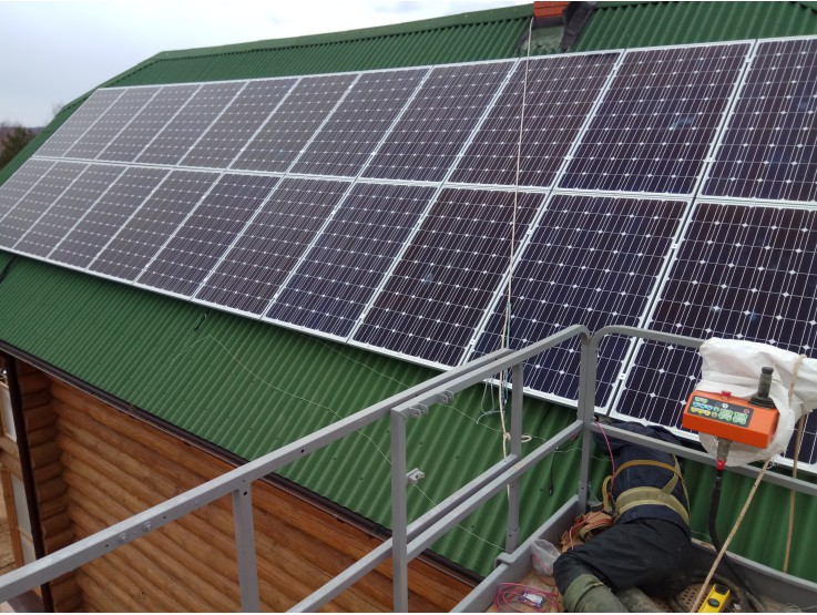 Солнечная электростанция 7,7кВт