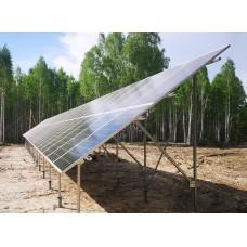 Металлоконструкции для установки солнечных батарей