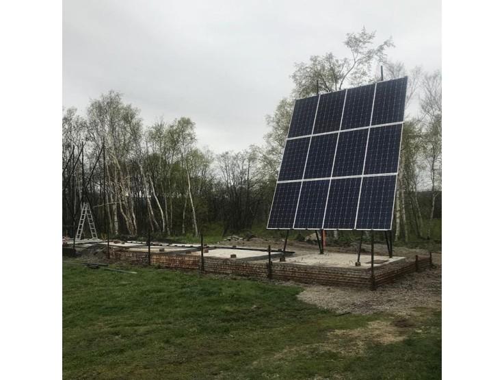 Сетевая солнечная электростанция 21,6 кВт