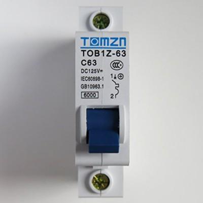 Автомат защиты постоянного тока TOMZN TOB1Z-10, 10 А