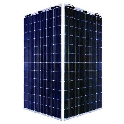Двухсторонняя солнечная батарея Хевел HVL-380/HJT